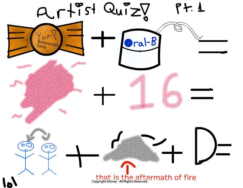Artist Quiz Part 1
