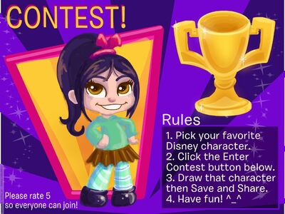Disney-Create-DC-Artist-CONTEST-Draw-your-fav-character