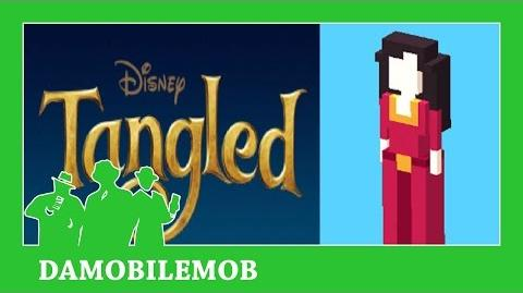 ★ DISNEY CROSSY ROAD Secret Characters - MOTHER GOTHEL Unlock (TANGLED) (iOS, Android Gameplay)