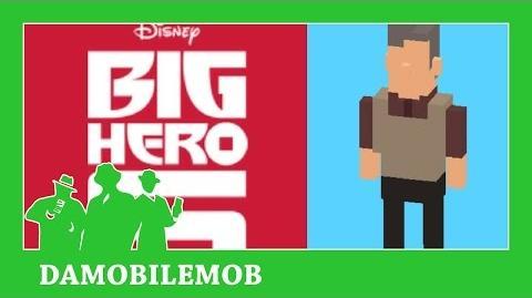 ★ DISNEY CROSSY ROAD Secret Characters - ROBERT CALLAGHAN UNLOCK (BIG HERO SIX)