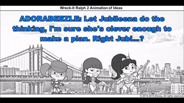 Wreck-It Ralph 2 Animation of Ideas 2