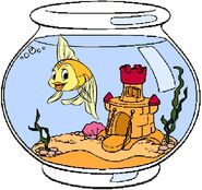 Cleo the Goldfish Clipart
