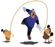 Tipo Pj Chaca Jump-Rope