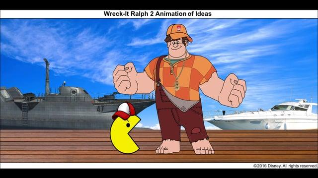 Wreck-It Ralph 2 Animation of Ideas 15 (Final)