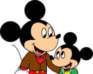 Mouse Town Mickey and Elmer