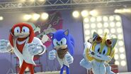 SB Tails was very good singer