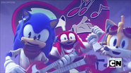 Very good singer Sonic Tails and Knuckles