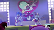 You Go Sonic Tails and Knuckles Rock Bands