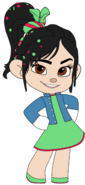 Vanellope's Outfit and Jean Jacket