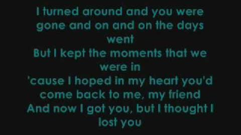 Miley Cyrus ft. John Travolta - I Thought I Lost You (With Lyrics)