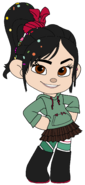 Vanellope in her New Boots