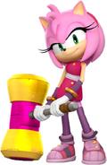 Sonic Boom Amy Artworks