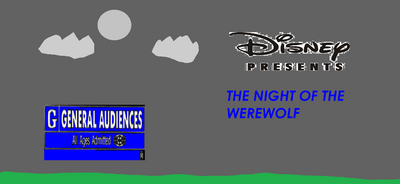 The Night of the Werewolf movie poster