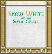 Snow White and the Seven Dwarfs storybook FrontCover