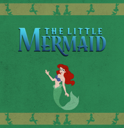 The Little Mermaid storybook FrontCover