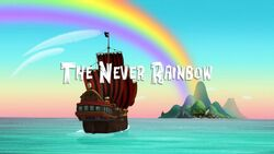 The Never Rainbow Title