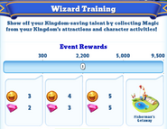 Me-wizard training-1-milestones