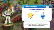Q-a flower for a flower