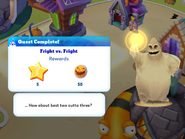Q-fright vs fright