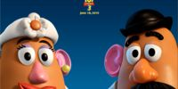 Mr potato head and mrs potato head