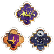 Aladdin the Musical Magnet Set