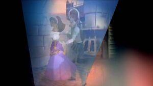 Esme dancing with Dimitri