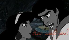 Aladdin jasmine argue