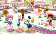 DMW - Daisy and Donald at the Cafe