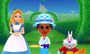 Alice White Rabbit and Mii