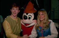 Taran and Eilonwy Disney Parks