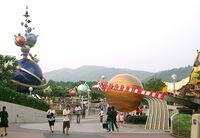 Tomorrowland Hong Kong Disneyland