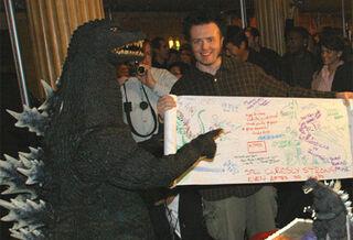 Godzilla at Disneyworld