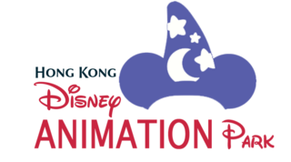 Hong Kong Disney Animation Park Logo