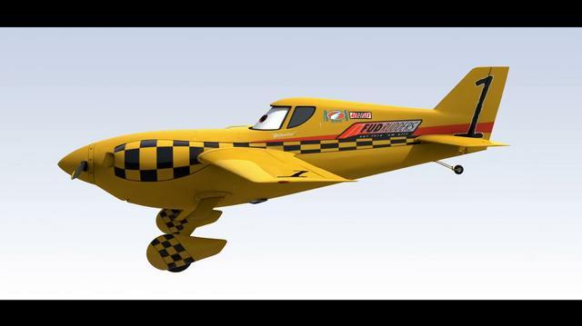 "Disney ""Planes"" - Yellow Bird Turn"