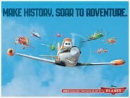 Make History, Soar To Adventure.