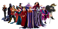 List of Disney Princess Villains