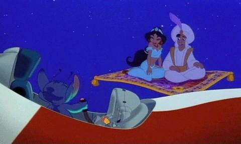 File:Stitch with disney princess jamine and aladdin.jpeg