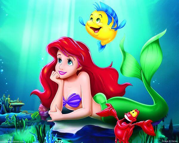 File:Ariel---Flounder-the-little-mermaid-223085 1280 1024.jpg