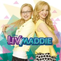 Liv and Maddie Soundtrack (Front)