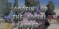 Goofin' Up the Social Ladder