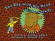 The Boy with His Head in the Clouds Title Card