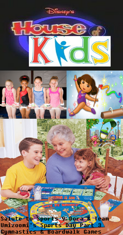 File:Disney's House of Kids - Salute to Sports 9- Dora & Team Umizoomi's Sports Day Part 3- Gymnastics & Boardwalk Games.png