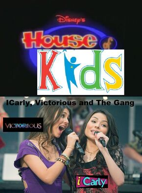 The Disney's House of Kids Movie - ICarly, Victorious and The Gang