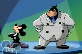 Mickey and pete