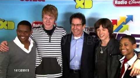 Leo Howard at Disney Channel's Worldwide Kids Upfront 2012-13 2