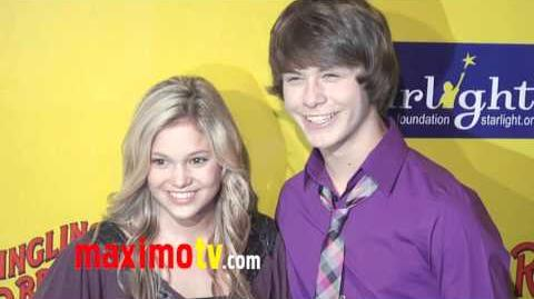 Olivia Holt & Evan Hofer at Ringling Bros