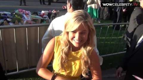 Olivia Holt Arrives At The Odd Life Of Timothy Green Premiere