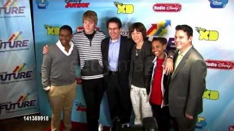 Leo Howard at Disney Channel's Worldwide Kids Upfront 2012-13 3