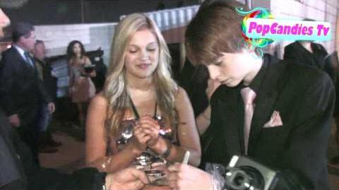 Olivia Holt leaving Prom Premiere After Party in Hollywood!