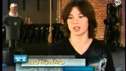 Leo Howard in Young Icons